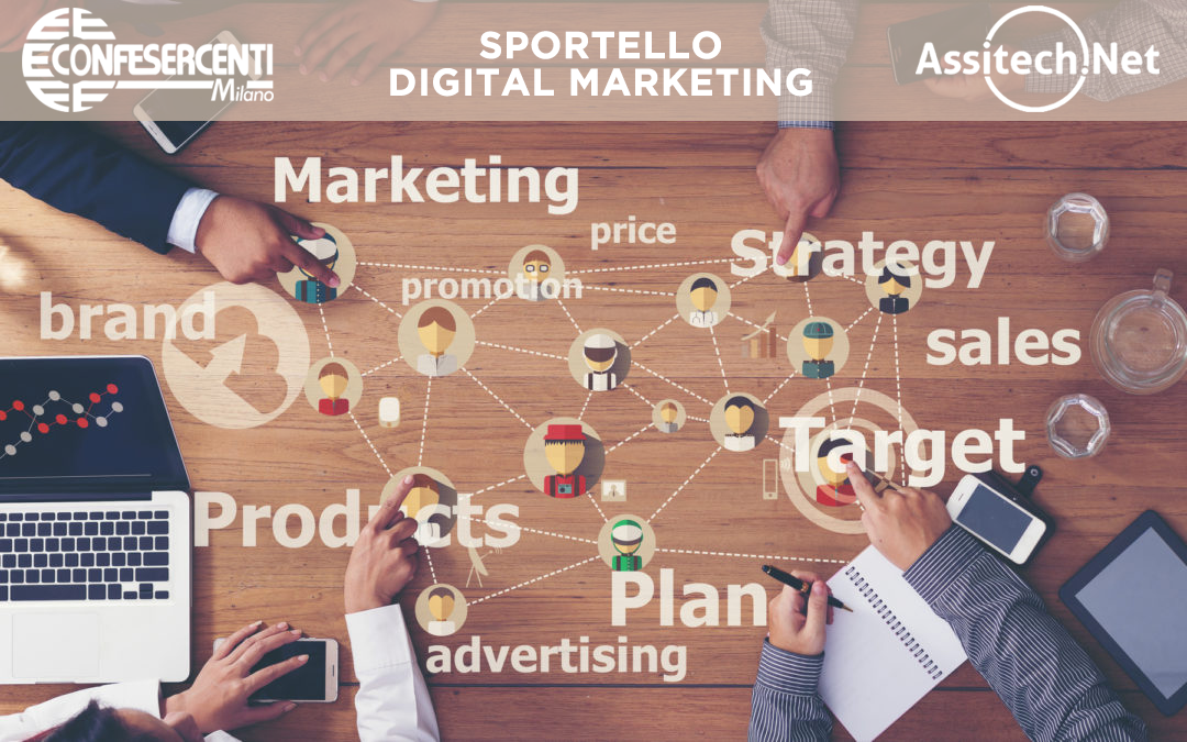 Marketing digitale, Confesercenti Milano annuncia sportello dedicato con Assitech.net